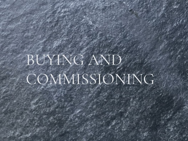 BUYING AND COMMISSIONING